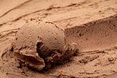 Choklad mjukglass — Stockfoto
