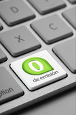 240 Computer Keyboard Key of emissions — Stock Photo