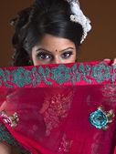 Indian lady — Stock Photo
