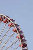 282 low angle cropped image of ferris wheel — Stock Photo