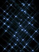 295 defocused image of blue neon lights — Stock Photo