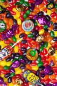 317 close up of halloween candies — Stock Photo