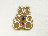 730 gingerbread man — Stock Photo