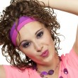 80's hairplay - Stock Photo
