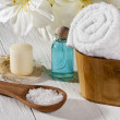 96 spa products — Stock Photo