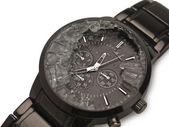 破碎的手表 — 图库照片