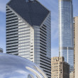Millenium park chicago — Stock Photo