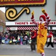 View of tall mc donalds clown — Stock Photo #19867653