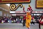 View of tall mc donalds clown — Stock Photo
