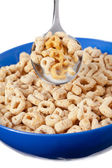 A bowl full of cereals — Stock Photo