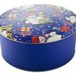 12 christmas cookie tin — ストック写真