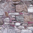 135 old tuscan stone wall — Stock Photo