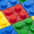 Stock Photo: 147 colorful lego bricks