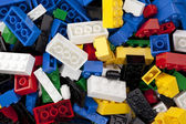 166 lego background — Stock Photo