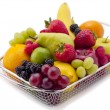 253 basket of fruit — Stock Photo