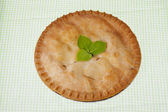 272 top view of a apple pie — Stock Photo