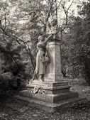 629 view of statues — Stock Photo