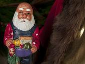 Santa claus figurine — Stock Photo