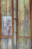 Vieille porte en bois — Photo