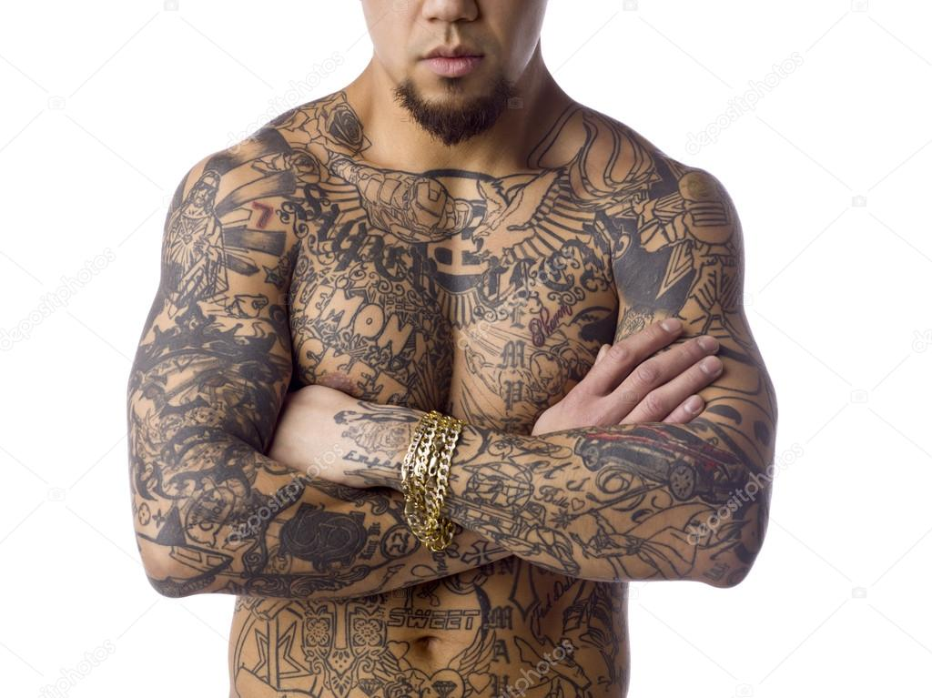Tatouage photographie kozzi2 20237053 - Tatouage homme poitrine ...