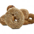 A bunch of bagels — Stock Photo