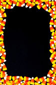 Arranged candy corn — Stock Photo