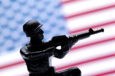 American soldier — Stock Photo