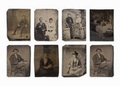 Ancient portraits — Stock Photo