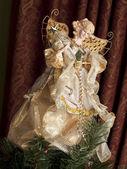 Angel christmas ornament — Stock Photo