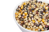 Assorted corn beans in a bowl — Stock Photo