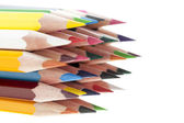 Assortment of a colored pencil — Stock Photo