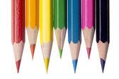 882 close-up tiro de lápis de cor — Foto Stock