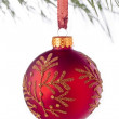 965 christmas ball - Stock Photo