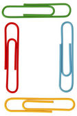 935 colorful paperclips — Stock Photo