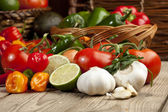 962 mexican vegetables — Stock Photo