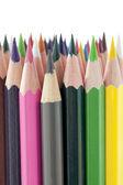 974 lápis coloridos — Foto Stock