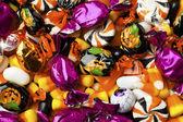 976 zblízka různobarevné bonbóny — Stock fotografie