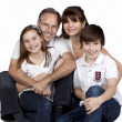 A happy family - Stock Photo