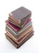 En hög med böcker — Stockfoto