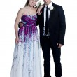 A young prom couple — Stock Photo #22435609
