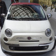Постер, плакат: 2013 car image fiat white Car Show