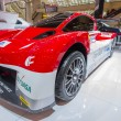 Постер, плакат: Mitsubishi Motors Electric race car low