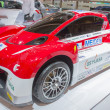 Постер, плакат: Mitsubishi Motors Electric race car front