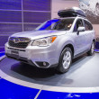 ������, ������: 2013 subaru forest suv truck grey with roof rack 3