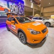 ������, ������: 2013 Subaru XV Crosstrek car image orange side