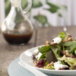 A plate of green salad - Stock Photo