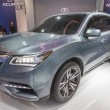 Постер, плакат: 2013 Acura RLX Elite Grey Vehicle 3