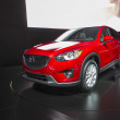 2014 Mazda CX-5 Car Red - Lizenzfreies Foto