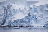 Antarctic Iceberg View — Stock Photo