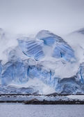 Antarctic Iceberg Wall — Stock Photo